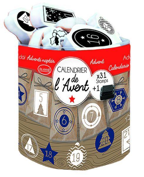 StampoScrap, Adventní kalendář, určeno na scrapbooking a cardmakint Aladine