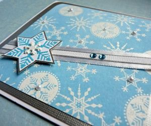 StampoScrap, sněhové vločky, určeno na scrapbooking a cardmakint Aladine
