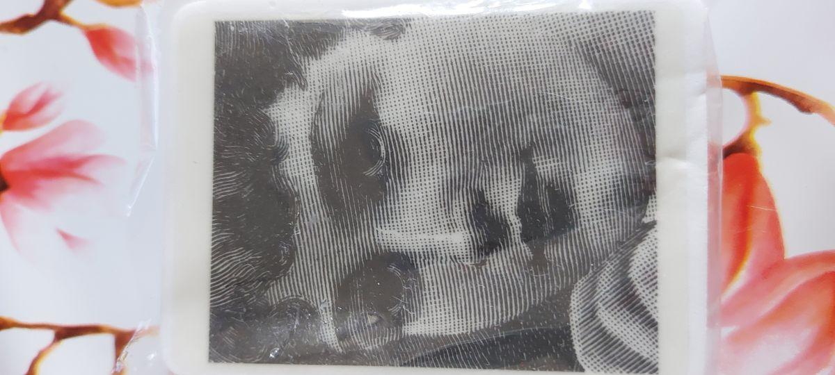 Dáma - Razítko na bílé pěně, výrobce LaBlanche, scrapbooking