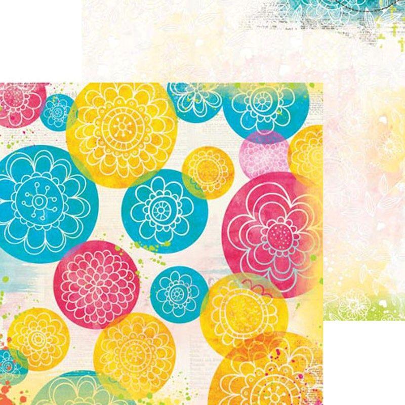 Oboustranný papír na scrapbook Believe Joyous - BoBunny, cardmaking, scrapbooking