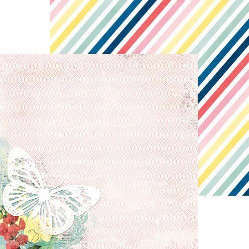 Oboustranný papír na scrapbook Sweet Life - Wish - BoBunny, cardmaking, scrapbooking