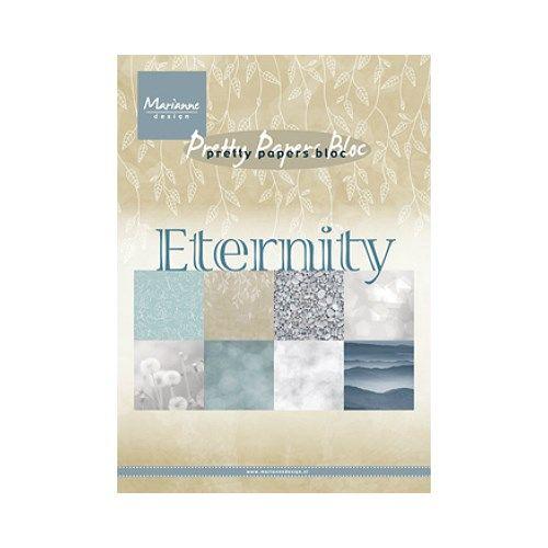 Sada papírů na scrapbooking Marianne Design - Sada papírů A5 Eternity - 8 ks